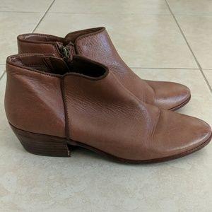 Sam Edelman | Petty Cognac Ankle Bootie | Size 10